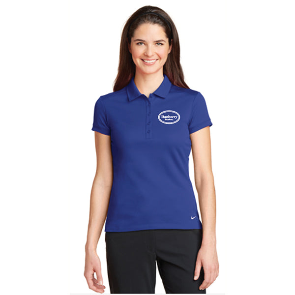 Ladies - Nike Dri-FIT Solid Icon Pique Modern Fit Polo (Danberry Realtors) - 746100