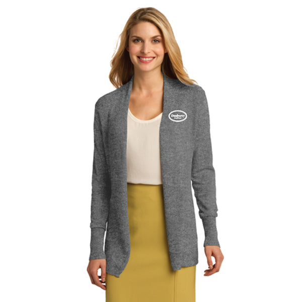Ladies - Port Authority® Open Front Cardigan Sweater (Danberry Realtors) - LSW289