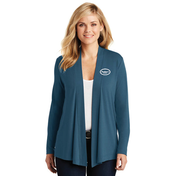 Ladies - Port Authority® Concept Knit Cardigan (Danberry Realtors) - L5430