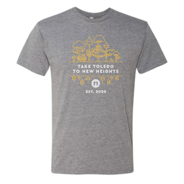 Treehouse Village - Youth Triblend T-Shirt (Metroparks Toledo) - 6310