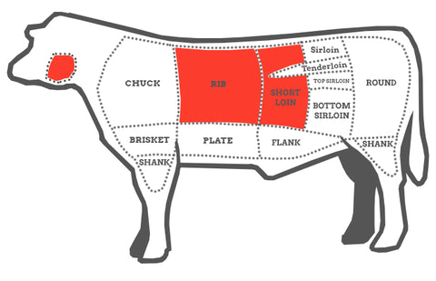 Quick BBQ Cow Diagram Steak Club