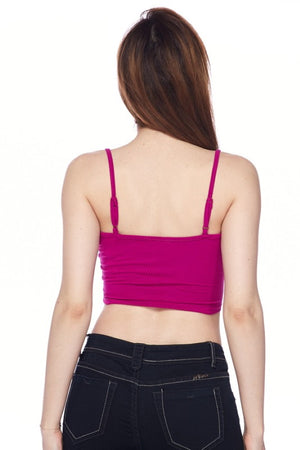 Ribbed Cami Crop Top