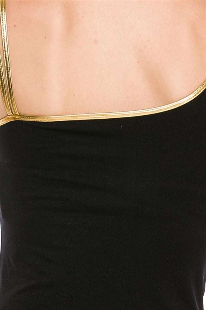 Gold Trim Top