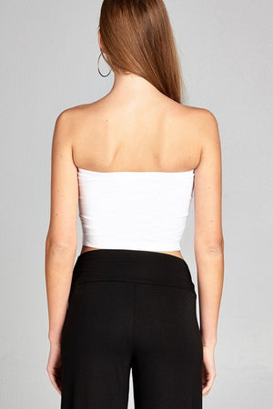 Basic Crop Tube Top