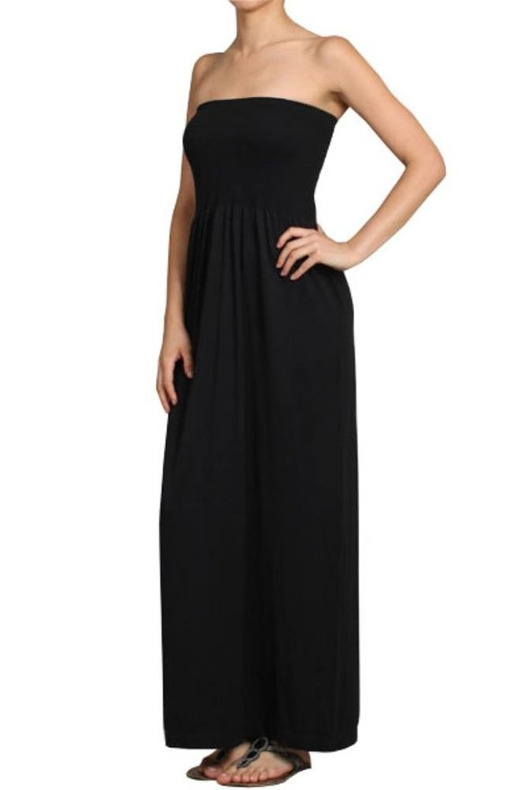 Strapless Maxi - Clearance