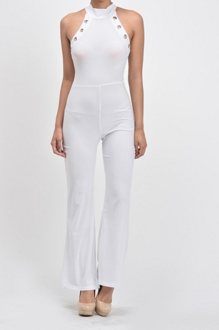 Eyelet Jumpsuit - Final Sale!