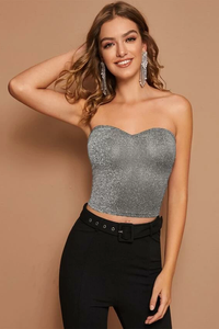 Sparkle Tube Top