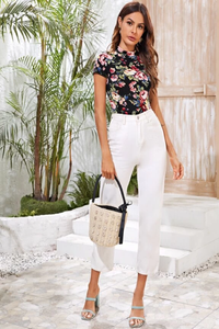 Lilly Floral Top