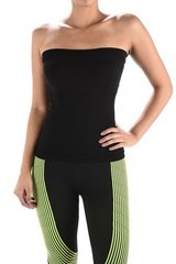 Plus Size Spandex Ribbed Tube