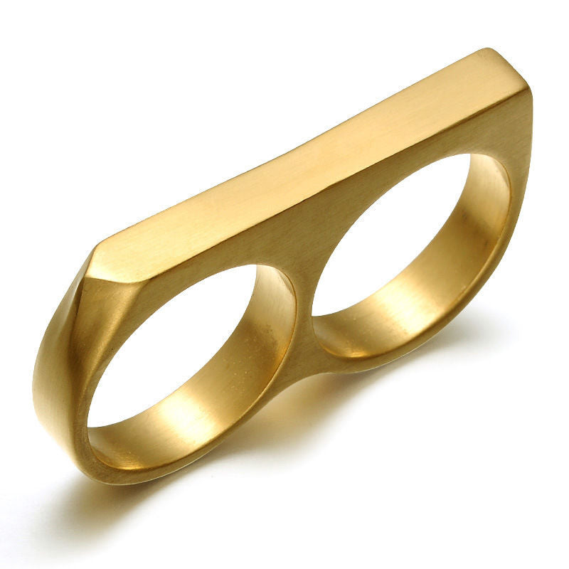 herrering, ring for mann, stålring, dobbel ring, tøff mannering, herre ring, mann ring, smykker for menn, maskulint, maskulin mote, tøffe smykker for mann, tøffe ringer, mote for menn