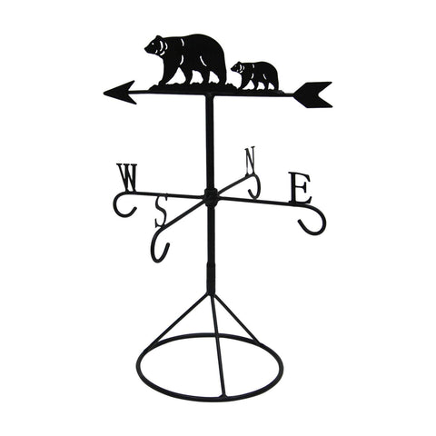 BEAR WEATHER VANE MUG TREE
