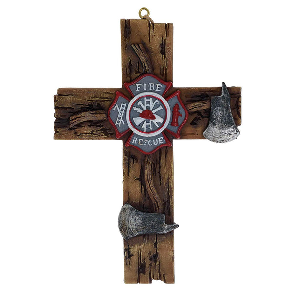 4 X 6 Firemen Axe Cross