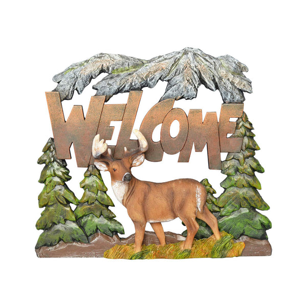 Deer Welcome Wall Art