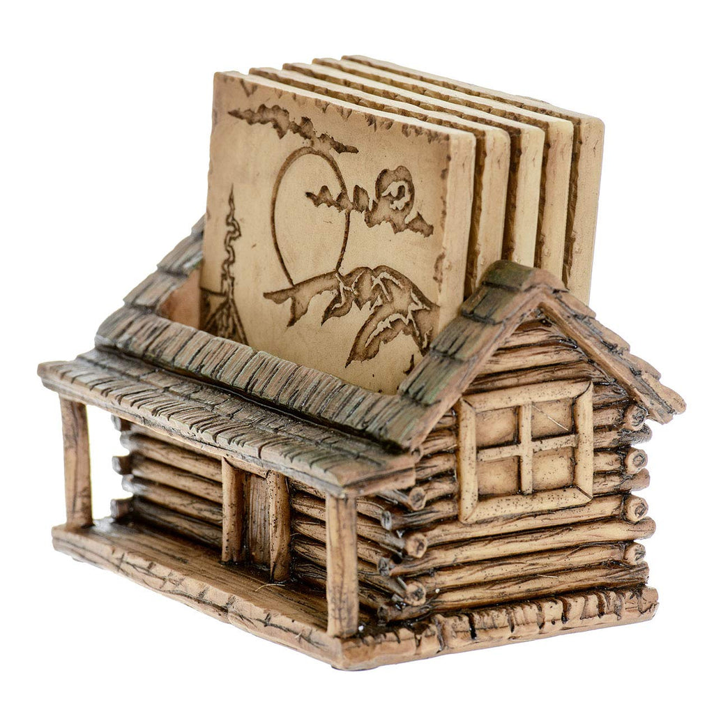 CABIN COASTER SET