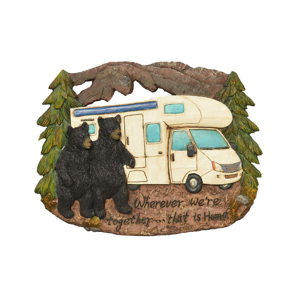 Black Bear Decorations for Home - Bear Wall Decor RV