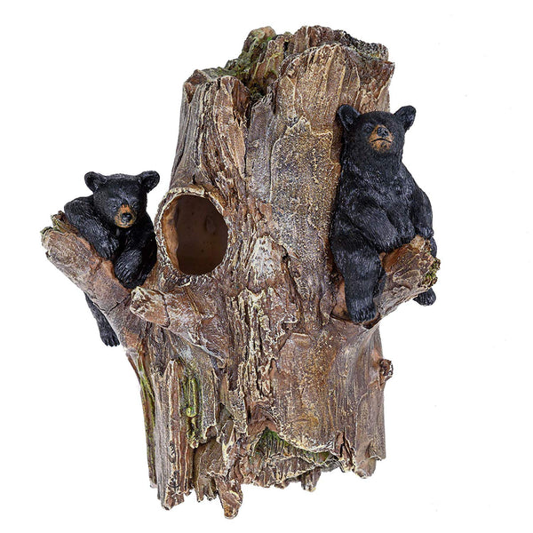 Black Bear Tree Birdhouse