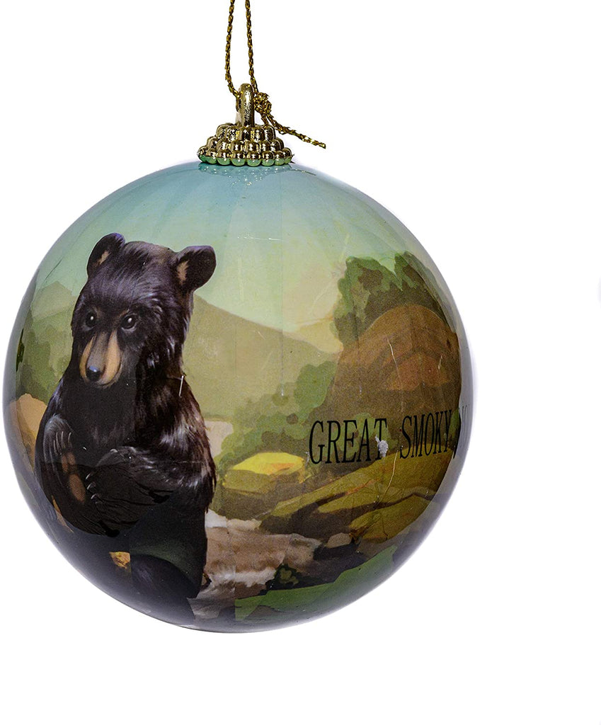 Great Smoky Mountains Bear Ornaments