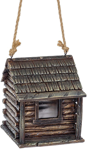 Cabin Bird House