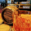 Whiskey Barrel Coaster Set