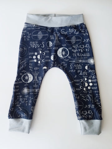 baby harem pants math science