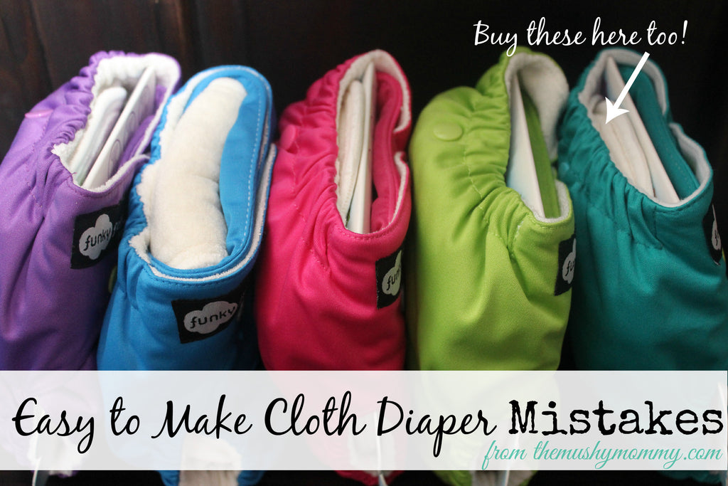 Easy to Make Cloth Diaper Mistakes