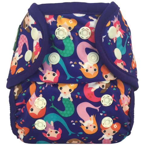 Swimmi One Size Swim Diaper (Mermaids)