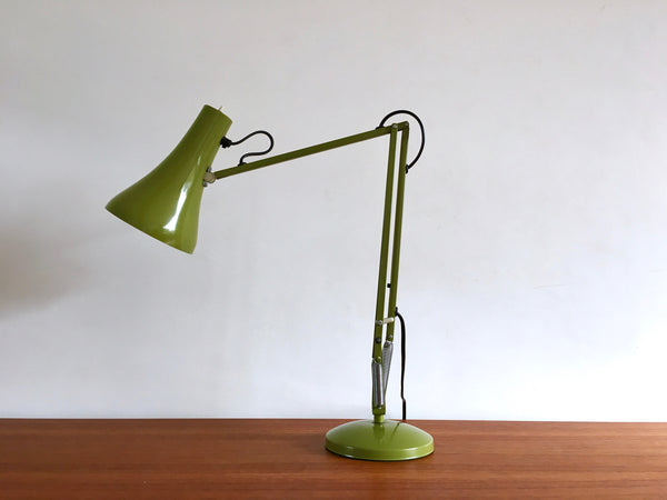 Vintage Industrial Anglepoise Desk Lamp Green 1970s