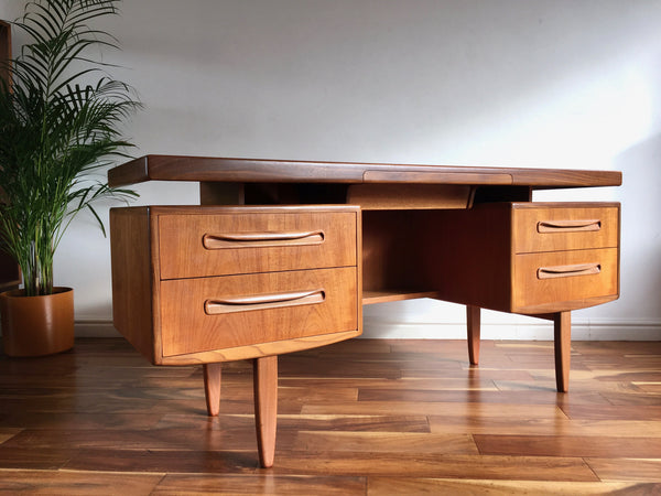 Mid Century G Plan Fresco Desk. Vintage Teak Dressing Table.