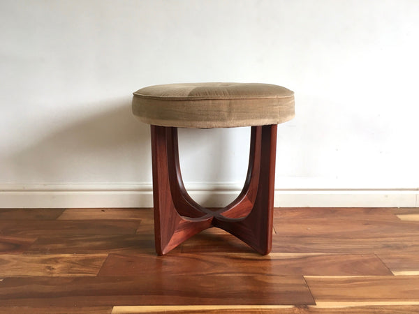 Mid Century G Plan Fresco Stool Dressing Table Foot Stool