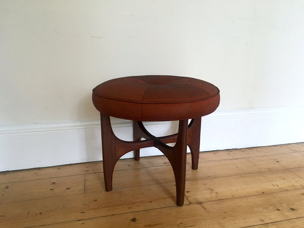 Mid Century G Plan Fresco Stool