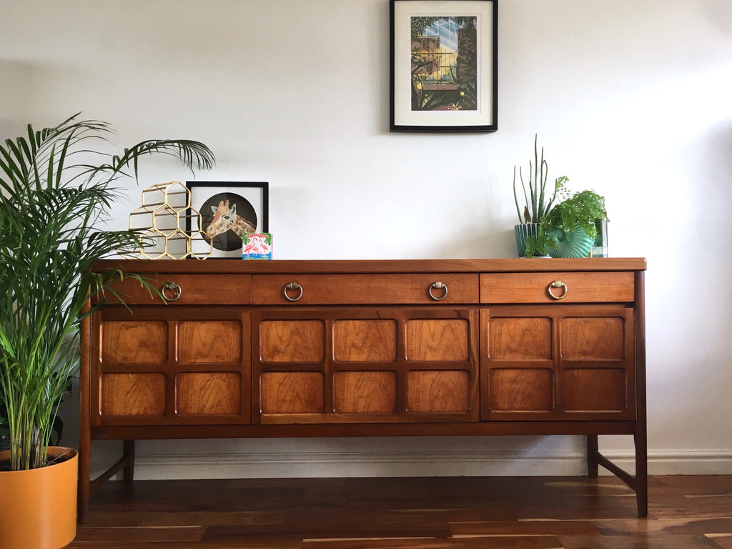new product 9b007 823e9 1970s Sideboard by Nathan