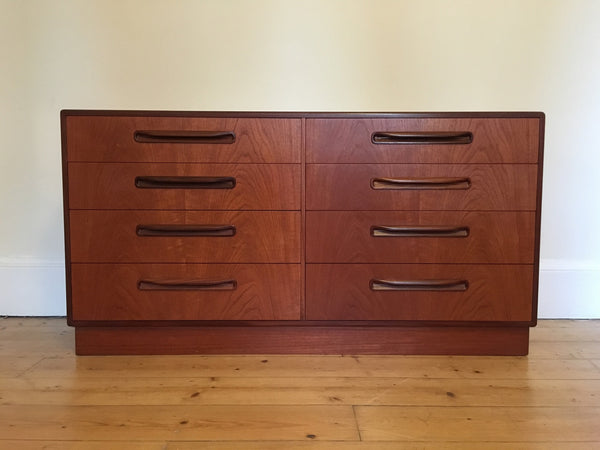 G Plan Freso 8 Drawer Chest