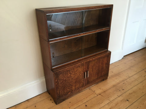 Vintage Minty Oxford Book Case Modular