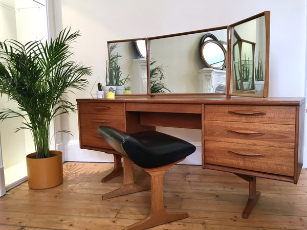Mid Century Austinsuite Stool for Dressing Table