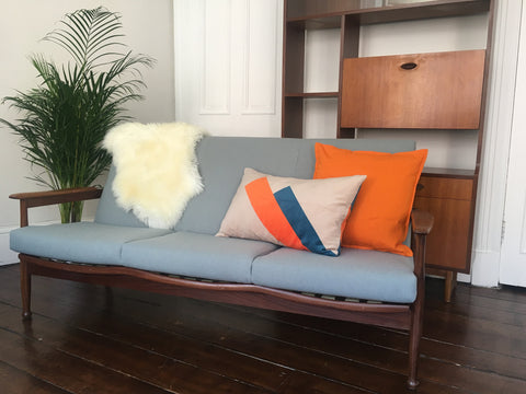 Guy Rogers Manhattan Sofa Mid-Century Retro