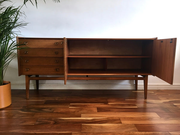 Mid Century Teak Sideboard C&J Brown of Newington