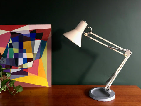 Mid Century 1970s Large Anglepoise Industrial Desk Lamp