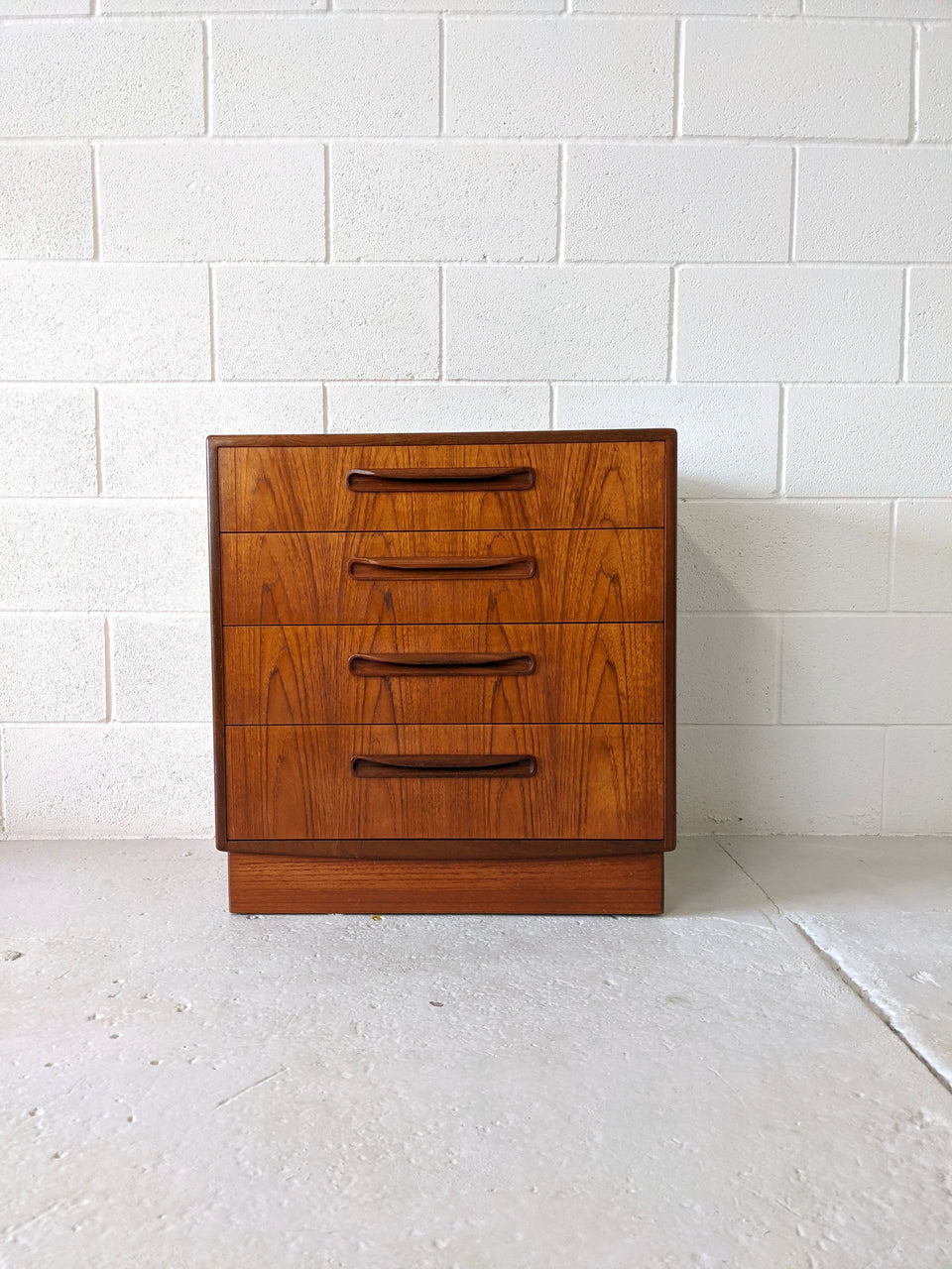 Mid Century G Plan Fresco Chest of Drawers