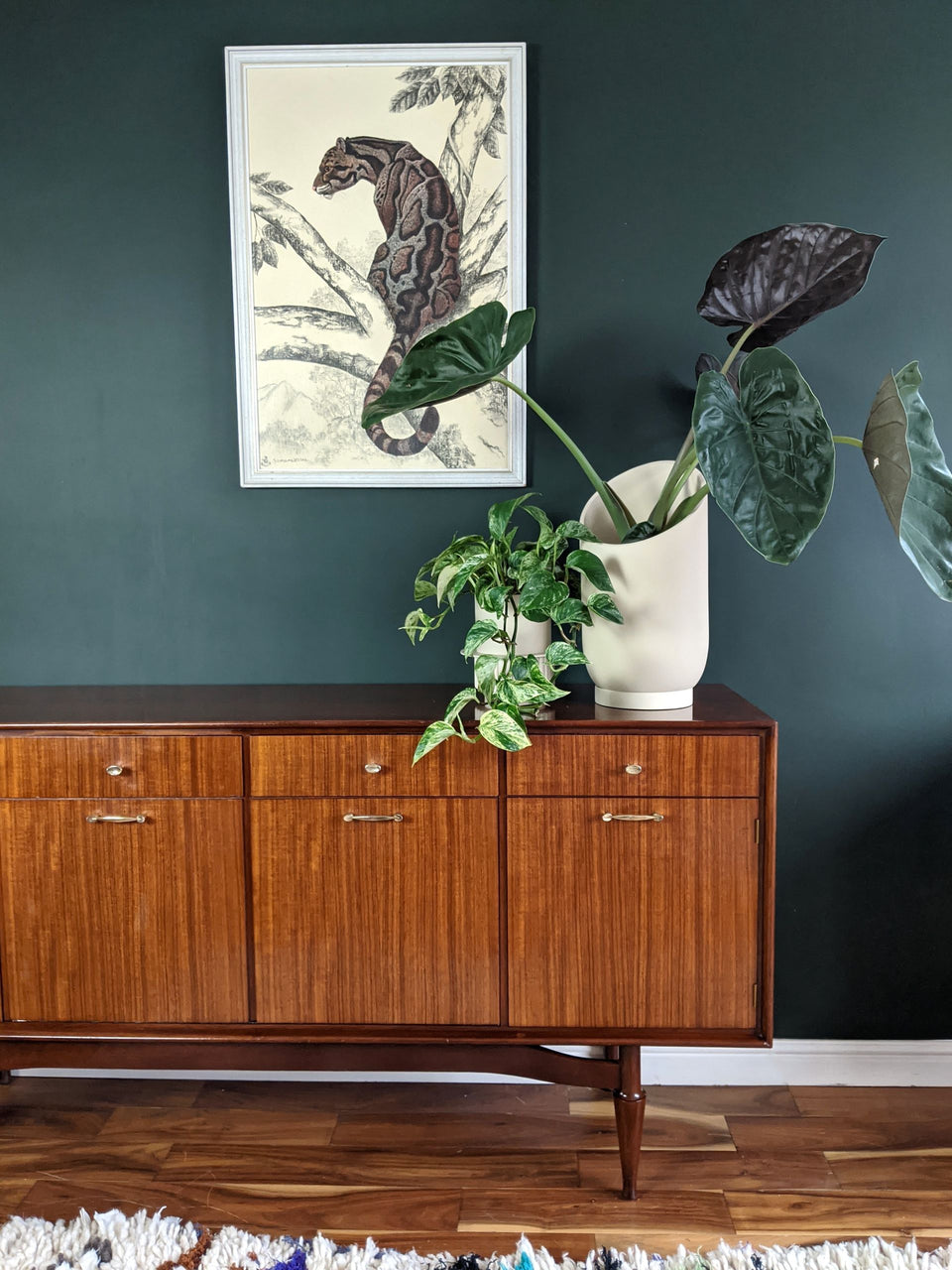 Capra Designs Large Summit Planter Fossil