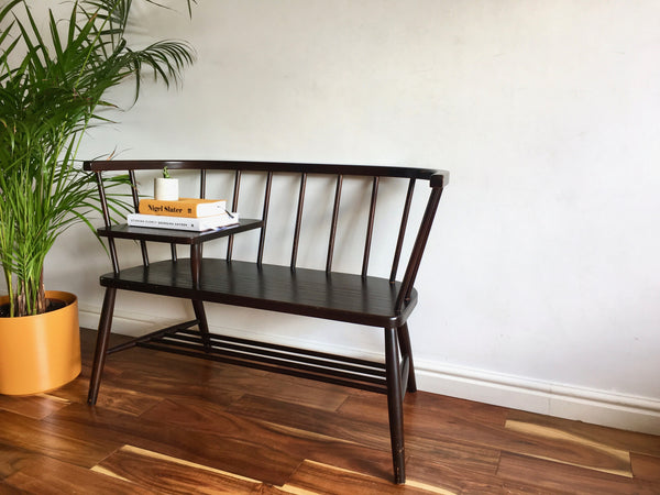 Mid Century Telephone Seat Ercol Chippy Heath Style