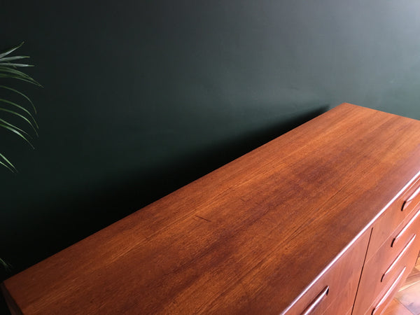Mid Century G Plan Fresco 8 Drawer Chest Vintage Retro Storage