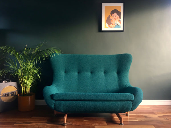 Mid Century Modern Greaves & Thomas Egg Sofa Bute Tiree Upholstery
