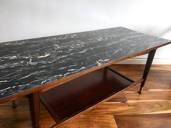 Mid Century Remploy Formica Coffee Table