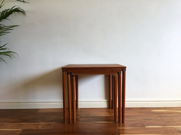 Danish Teak Table Nest (Set of 3)