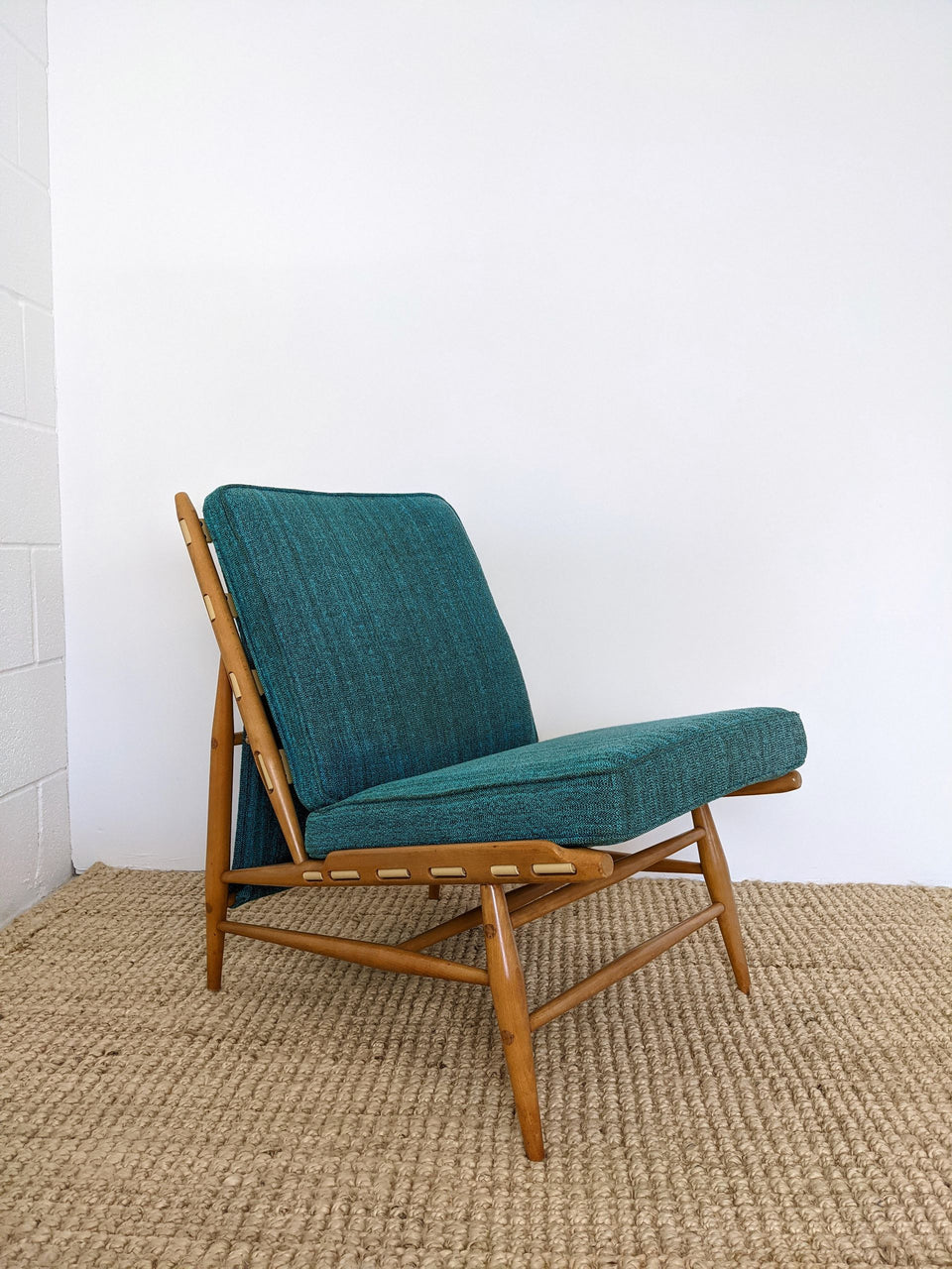Mid Century Rare Ercol 427 Easy Chair