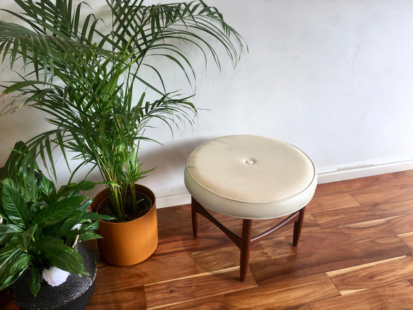 Mid Century G Plan Fresco Foot Stool Rare Model