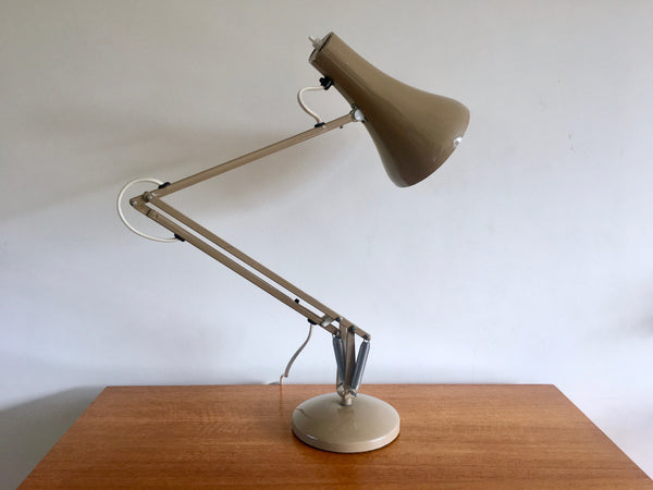 Mid Century 1960s Grey Anglepoise Desk Lamp Industrial Vintage Lighting