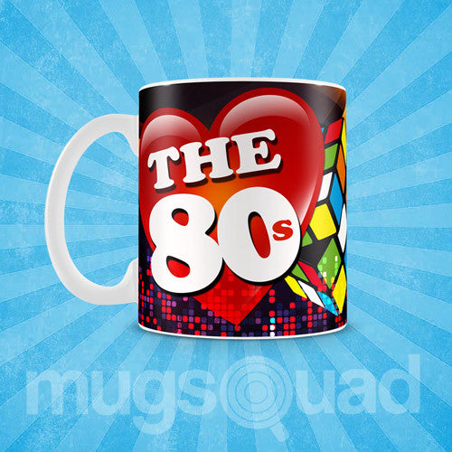 Back to the 1980's Mug Templates