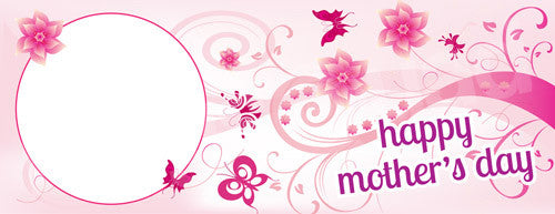 Happy Mother's Day Swirly Mug Template - Mug Squad Templates