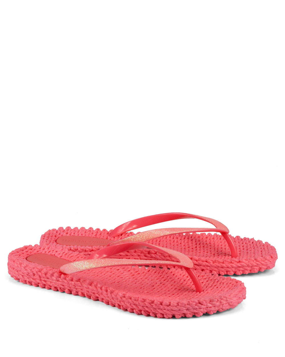 Cheerful Indian Red Flipflops - The Espadrille Hut